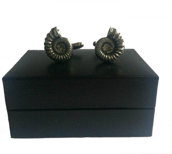 Ammonite (Fossil) Cufflinks d
