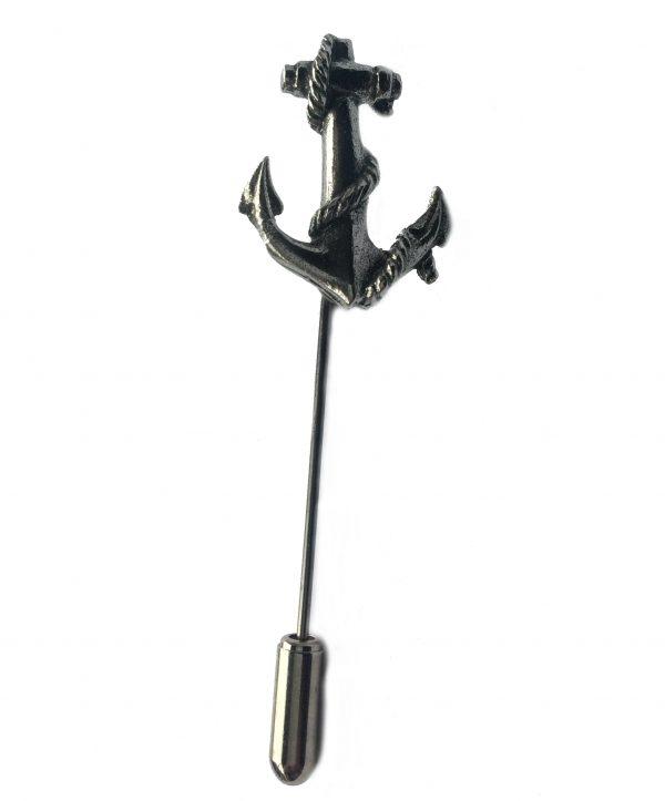 Anchor Lapel Stick Pin