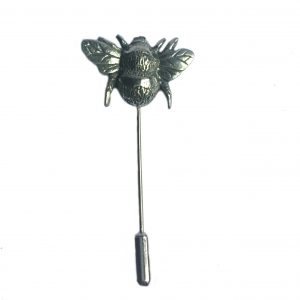 Bumble Bee Lapel Stick Pin