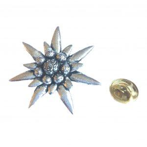 Edelweiss Lapel Pin Badge