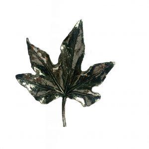 maple leaf scarf ring