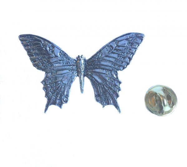 Swallowtail Butterfly Lapel Pin Badge