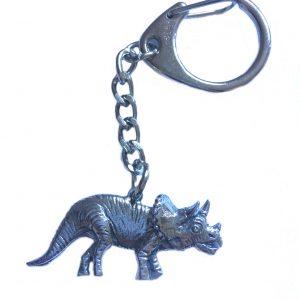 Triceratops Keyring