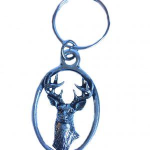 White Tailed Deer Keyring