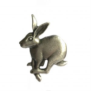 Mad March Hare Scarf Ring