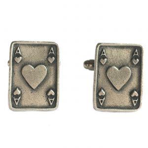 Ace of Hearts Cufflinks