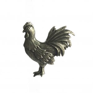 Rooster Scarf Ring