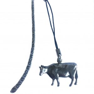 Friesian Cow Bookmark