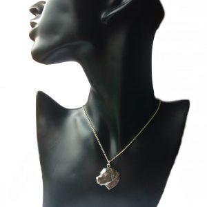 Labrador Head Necklace