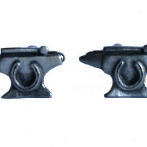 Blacksmith Anvil Cufflinks