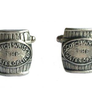 Whisky Cask (Barrel) Cufflinks