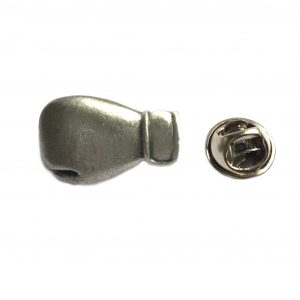 Boxing Glove Lapel Pin Badge