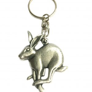 Mad March Hare Keyring