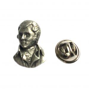 Robert Burns Lapel Pin Badge