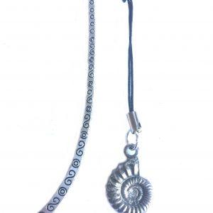Ammonite (Fossil) Bookmark