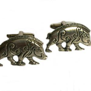 Celtic Boar Cufflinks