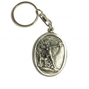 Roman Goddess Diana Keyring