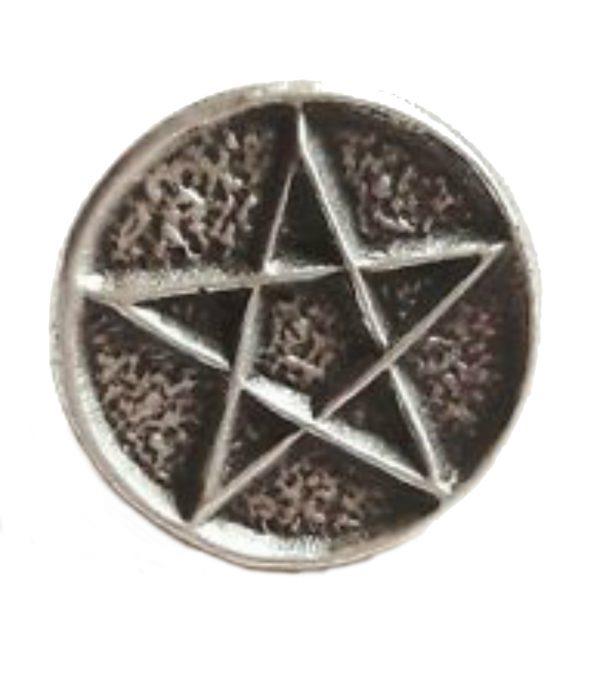 Pentagram Lapel Pin Badge