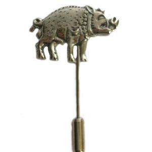 King Richard lll White Boar Lapel Stick Pin