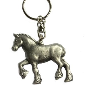 Handmade Donkey Pin Badge in Fine English Pewter