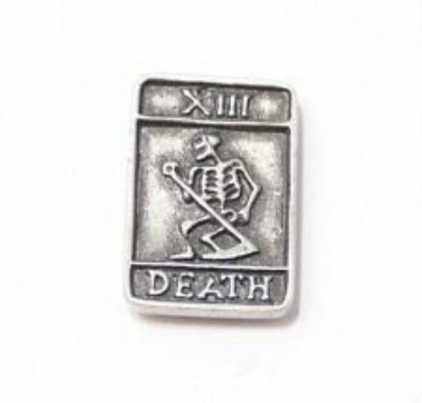 Tarot Card Death Lapel Pin Badge