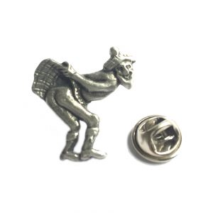 Up Yours Jimmy Lapel Pin Badge