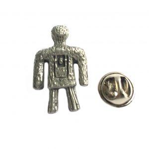 Whicker Man Lapel Pin Badge