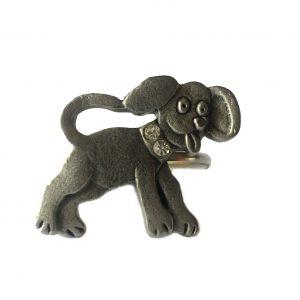 Dog Scarf Ring