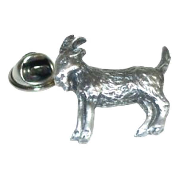 Goat Lapel Pin Badge