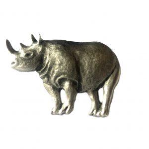 Rhinoceros Scarf Ring