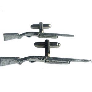 Automatic Shotgun Cufflinks