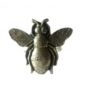 Honey Bee Scarf Ring