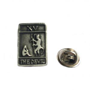 Tarot Card The Devil Lapel Pin Badge