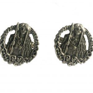 Viking Goddess Freya Cufflinks