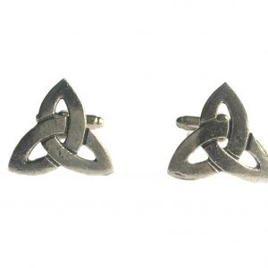 Celtic Triquetra Knot Cufflinks