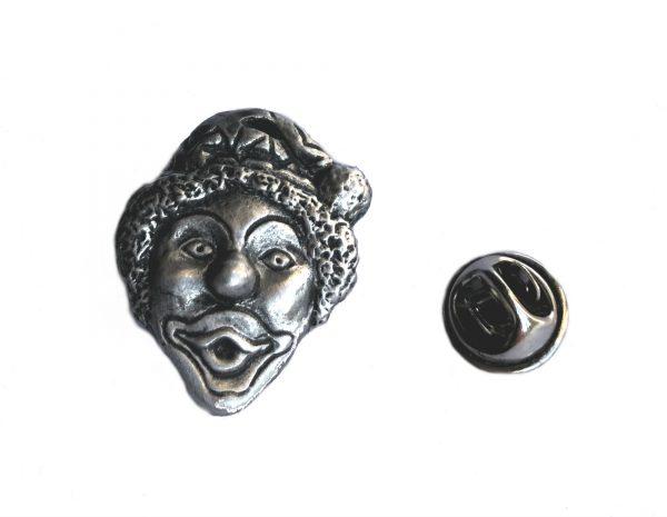 Clown Lapel Pin Badge