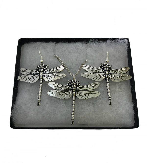 Dragonfly Jewellery Set