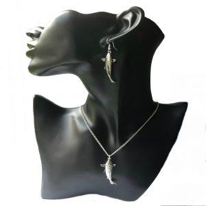 Koi Carp Jewellery Set
