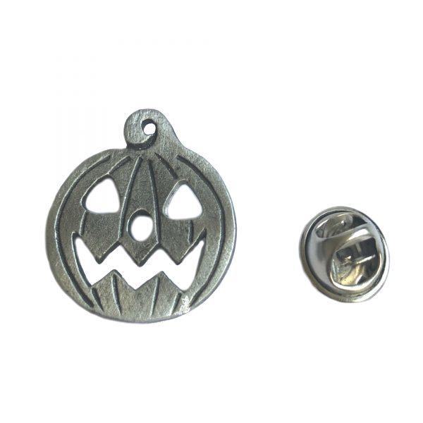 Pumpkin Lapel Pin Badge