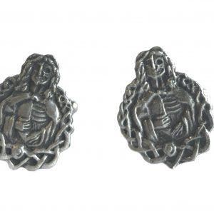 Viking Goddess Hel Cufflinks