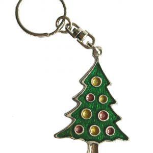 Christmas Tree Keyring