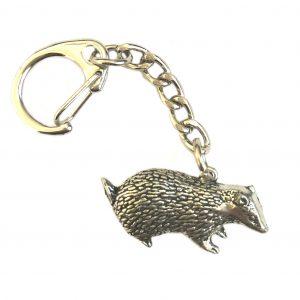 Badger Keyring