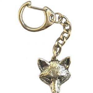 Fox Head Keyring