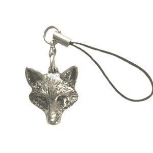 Fox Head Phone/Bag/Zip Charm