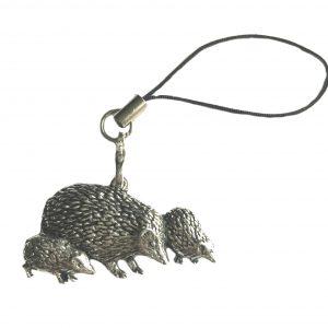 Hedgehog Family Charm