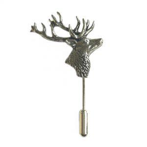 Stag Head Stick Pin