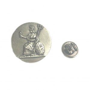 Britannia Pin Badge