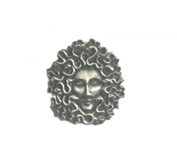 Medusa Pin Badge