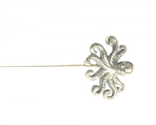 Octopus Hat Pin