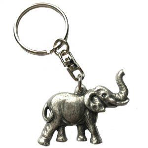 Lucky Elephant Keyring